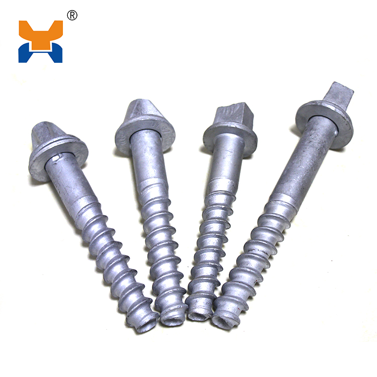 Special head screw spike