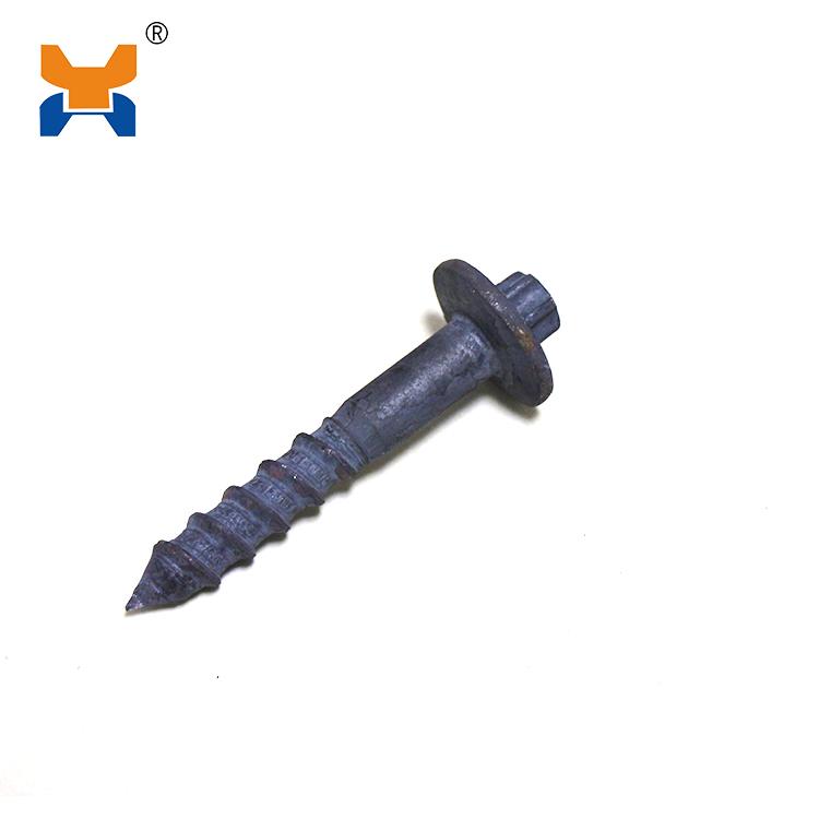 Special screw spike