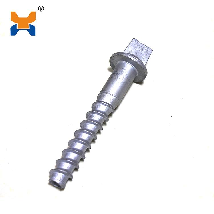 Square head screw spike