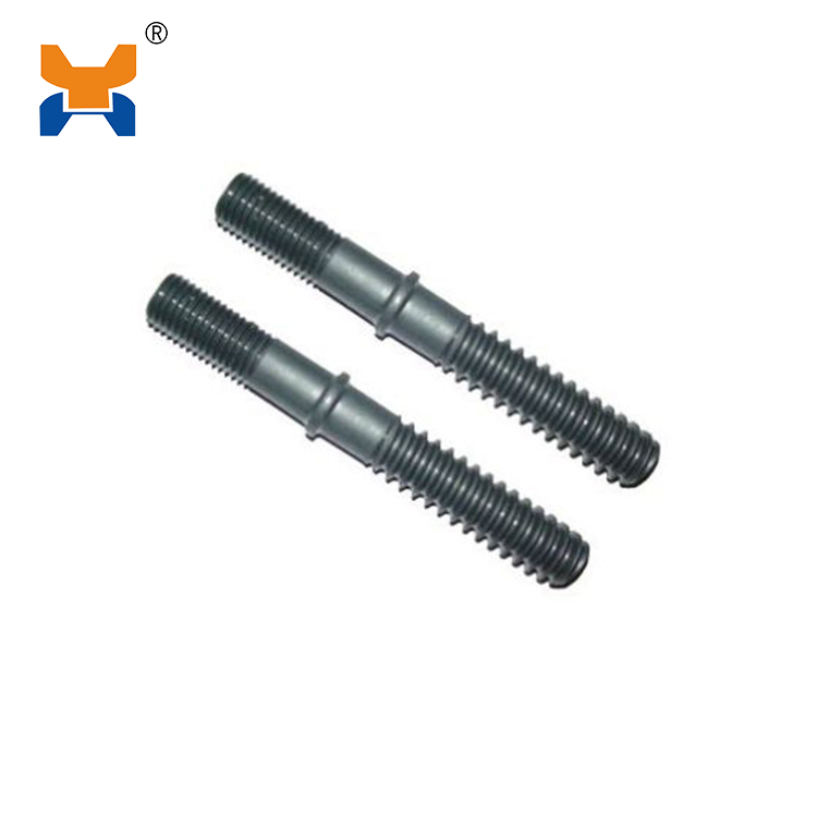 Double-head screw spike