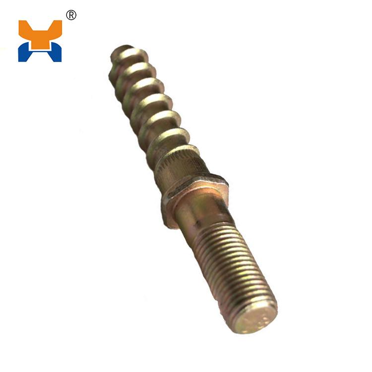 Double-head screw spike